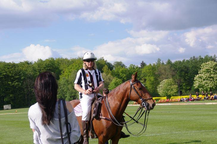 Bestens trainiert und erzogen: typisch Polo